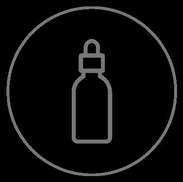 Il siero svolge nei confronti dell'epidermide un'azione idratante e tonificante dandole luminostià e compatezza.